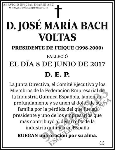 José María Bach Voltas